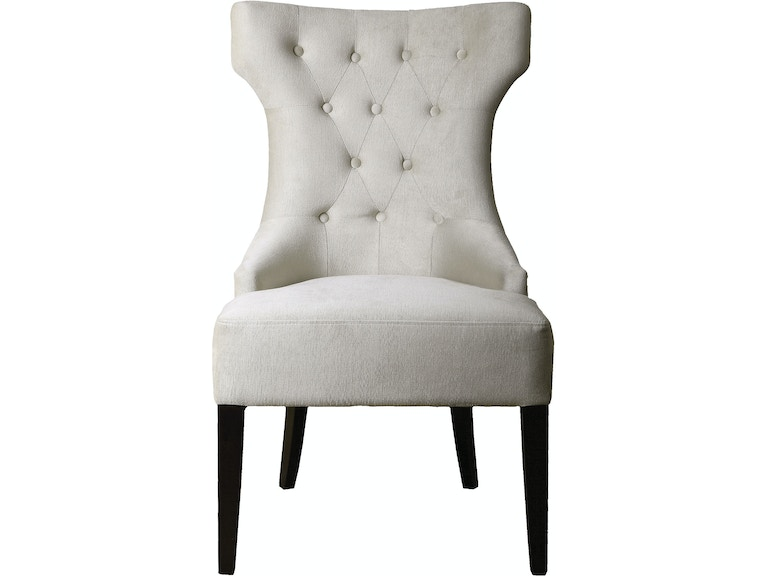 Uttermost Living Room Arlette Tufted Wing Chair 23239 Penny