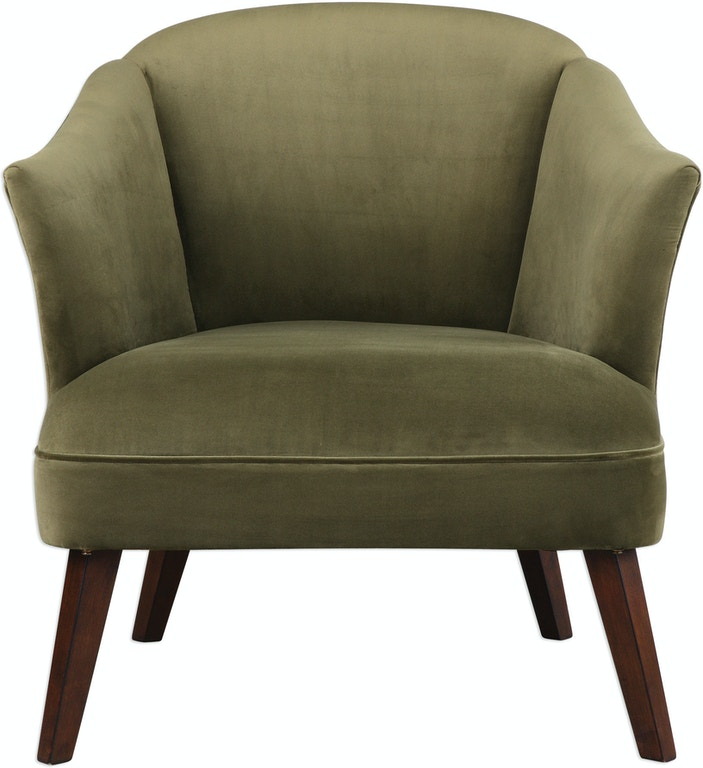 Uttermost Living Room Conroy Olive Accent Chair 23321