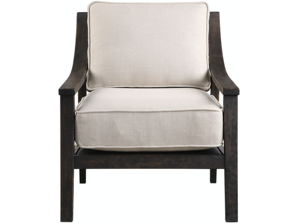 Astounding Uttermost Living Room Lyle Beige Accent Chair Ut23391 Walter E Smithe Furniture Design Gmtry Best Dining Table And Chair Ideas Images Gmtryco