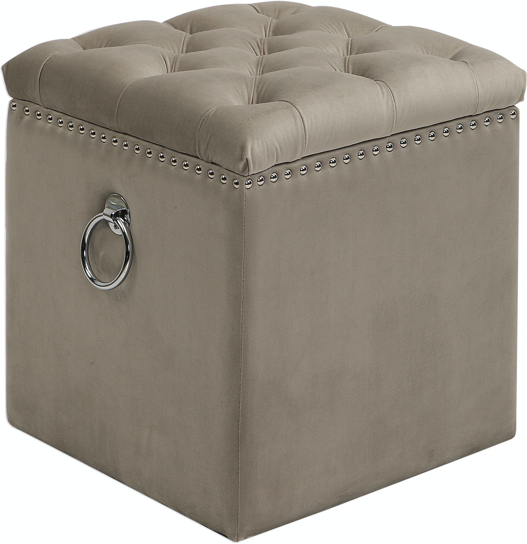 Marvelous Uttermost Living Room Talullah Tufted Storage Ottoman Ut23455 Walter E Smithe Furniture Design Unemploymentrelief Wooden Chair Designs For Living Room Unemploymentrelieforg