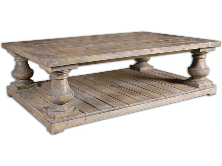 Uttermost Living Room Stratford Rustic Cocktail Table