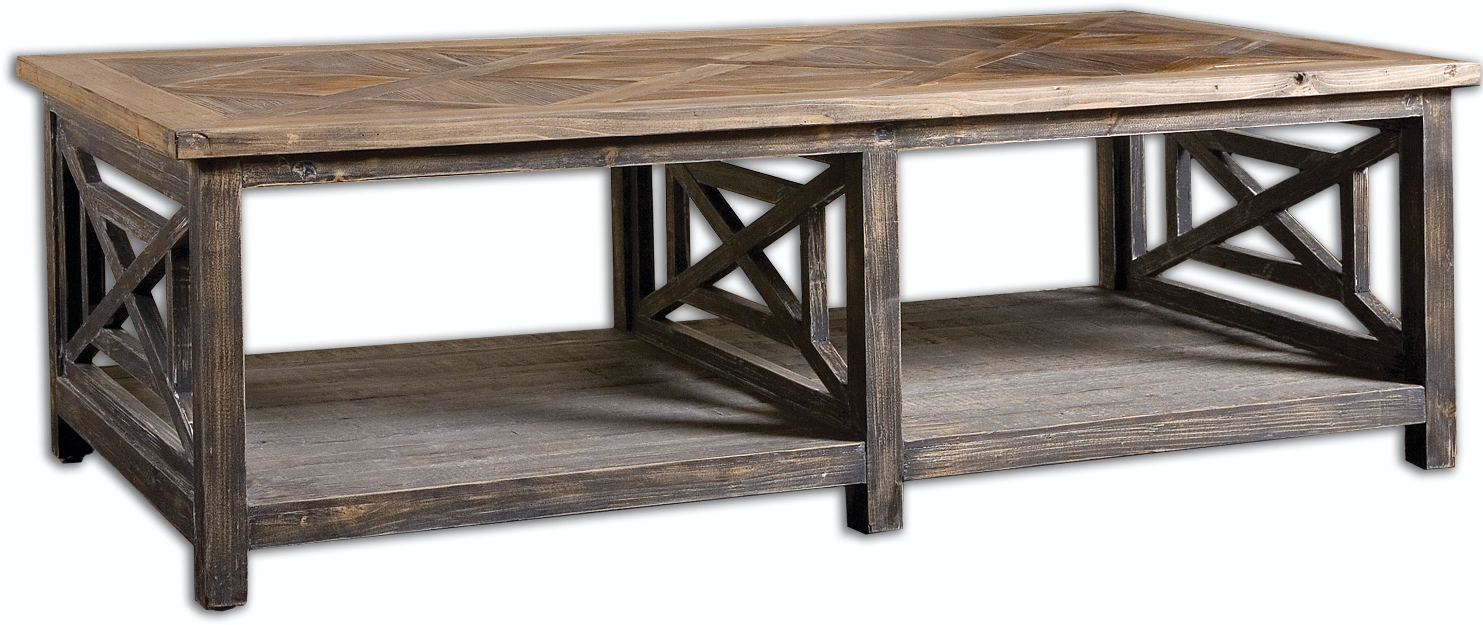 Uttermost Living Room Spiro Reclaimed Wood Cocktail Table : 24264 1 from www.bobmillsfurniture.com size 1024 x 768 jpeg 53kB