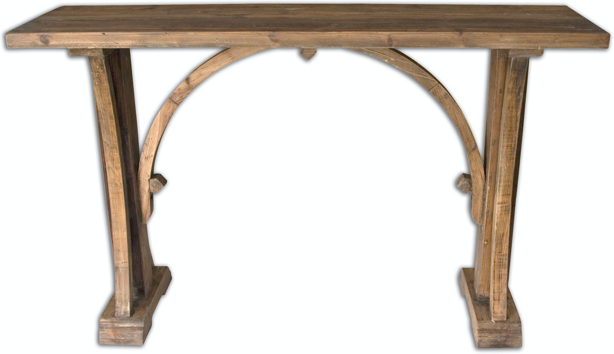 Uttermost Living Room Genessis Reclaimed Wood Console Table Ut24302 Walter E Smithe Furniture Design