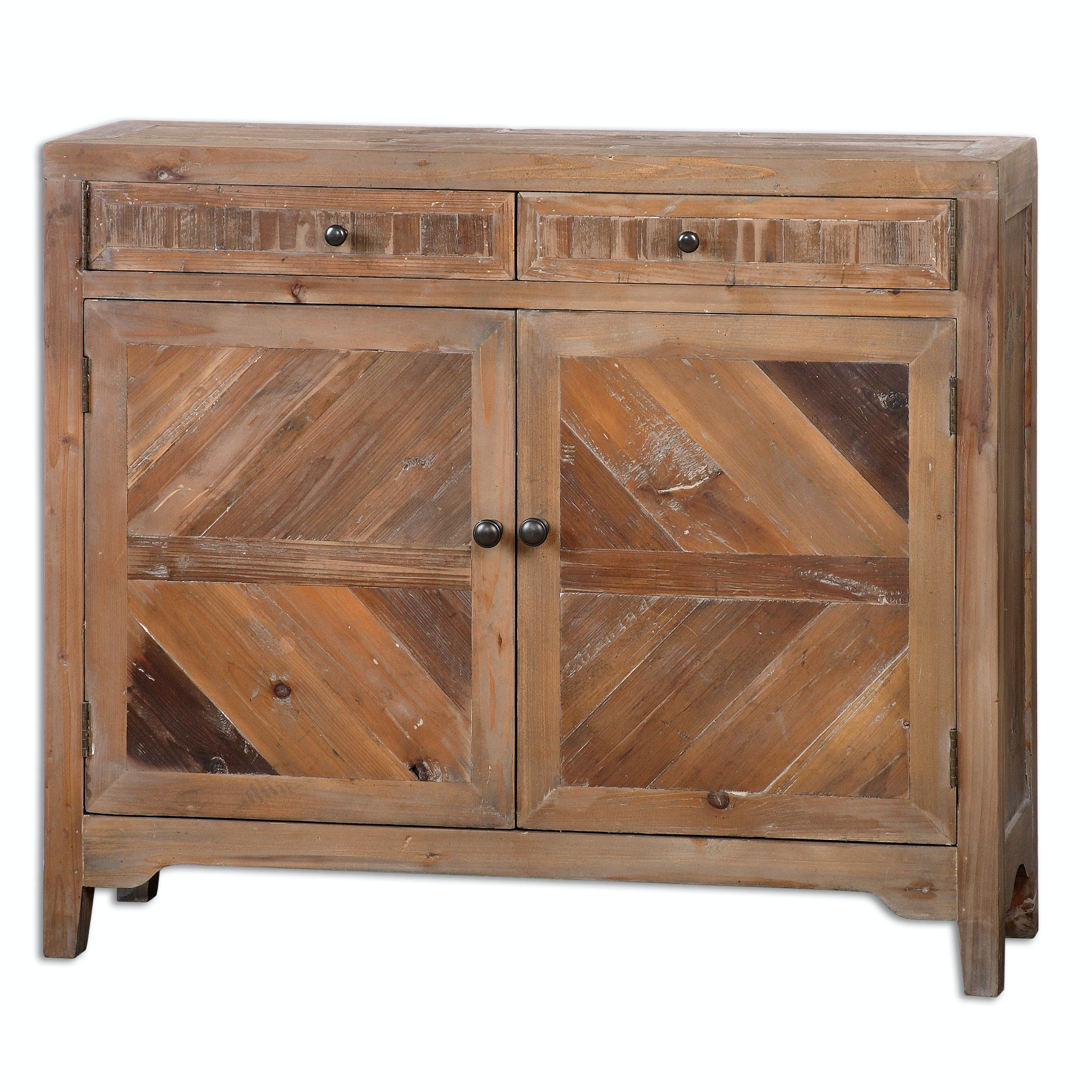 Candide Dark Gray Wood Credenza : Light gray wash wood like bathroom floor tiles design ideas