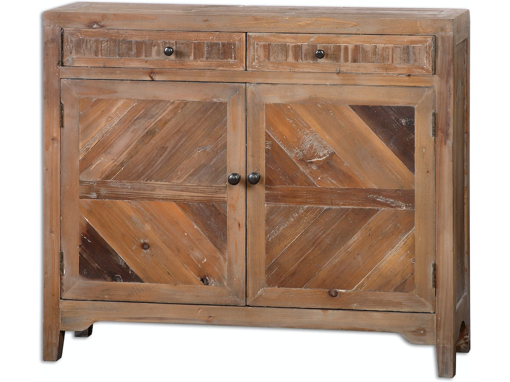 Uttermost Living Room Hesperos Reclaimed Wood Console
