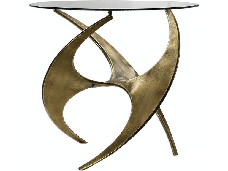 Uttermost Graciano Gl Accent Table Ut24516