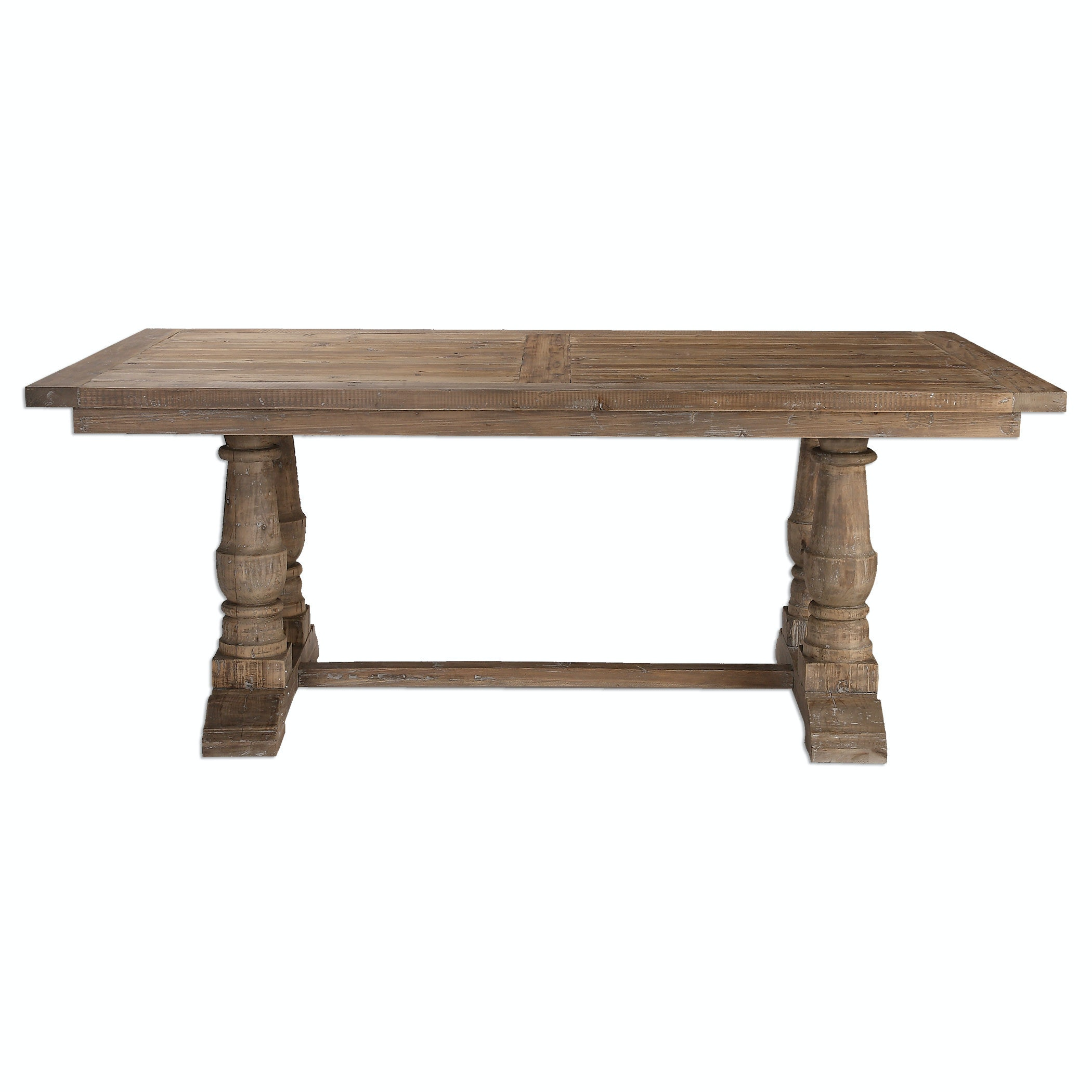 24557. Stratford Salvaged Wood Dining Table