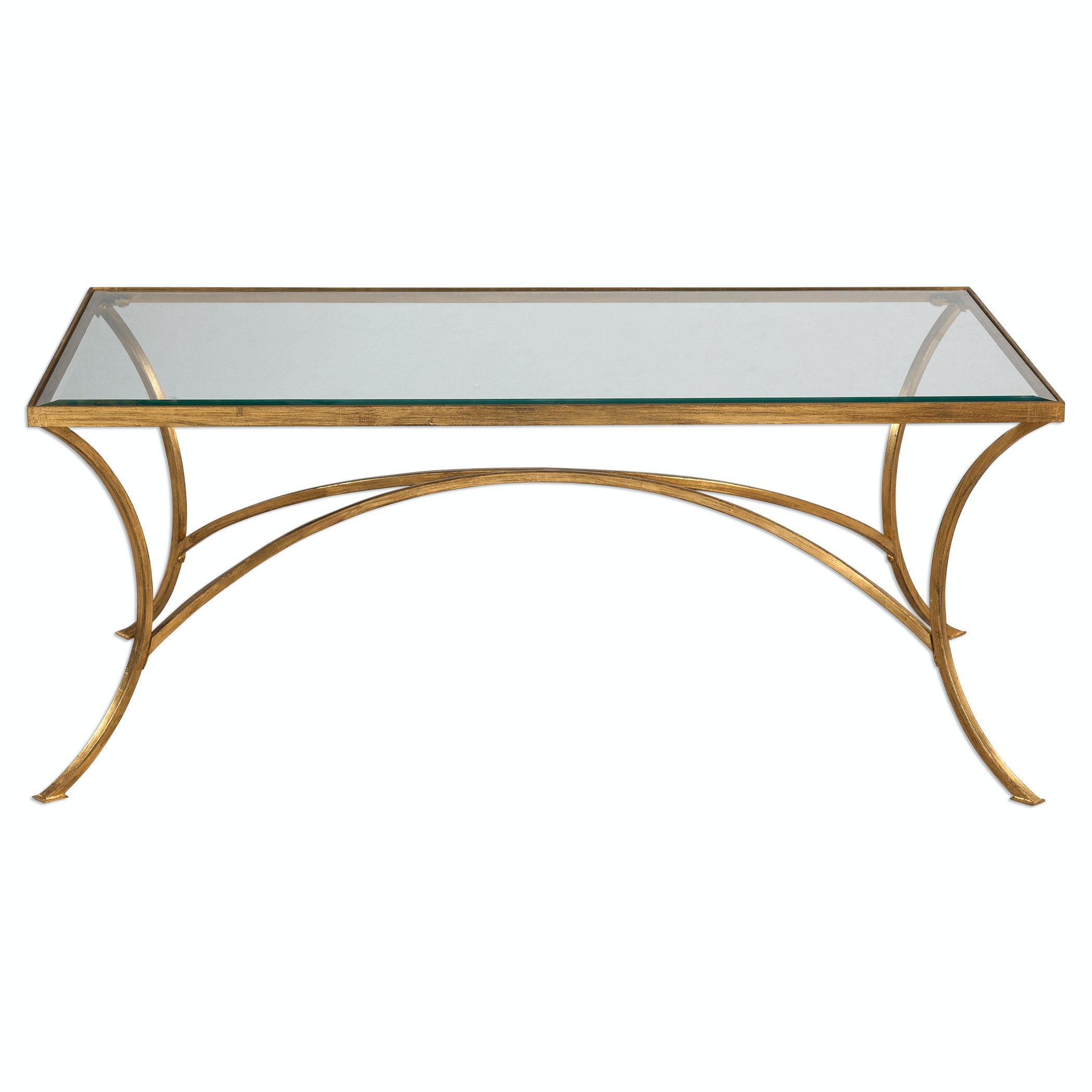 Uttermost Alayna Gold Coffee Table 24639