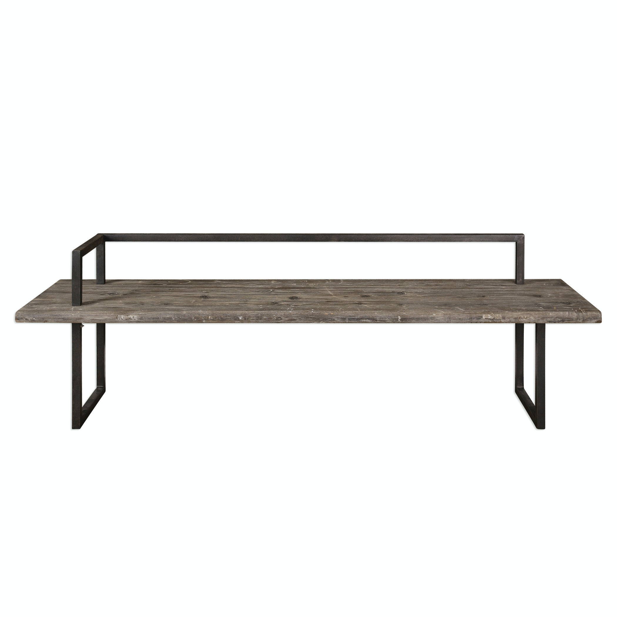 Awesome Uttermost Herbert Reclaimed Wood Bench 24701