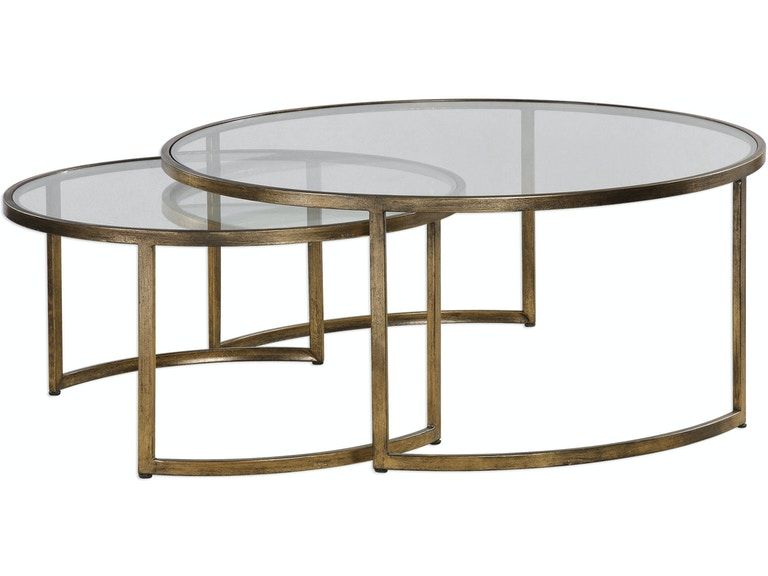 Uttermost Rhea Nested Coffee Tables S 2 24747