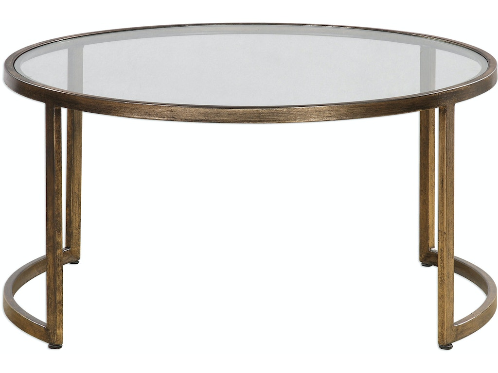 Uttermost Living Room Rhea Nested Coffee Tables S 2