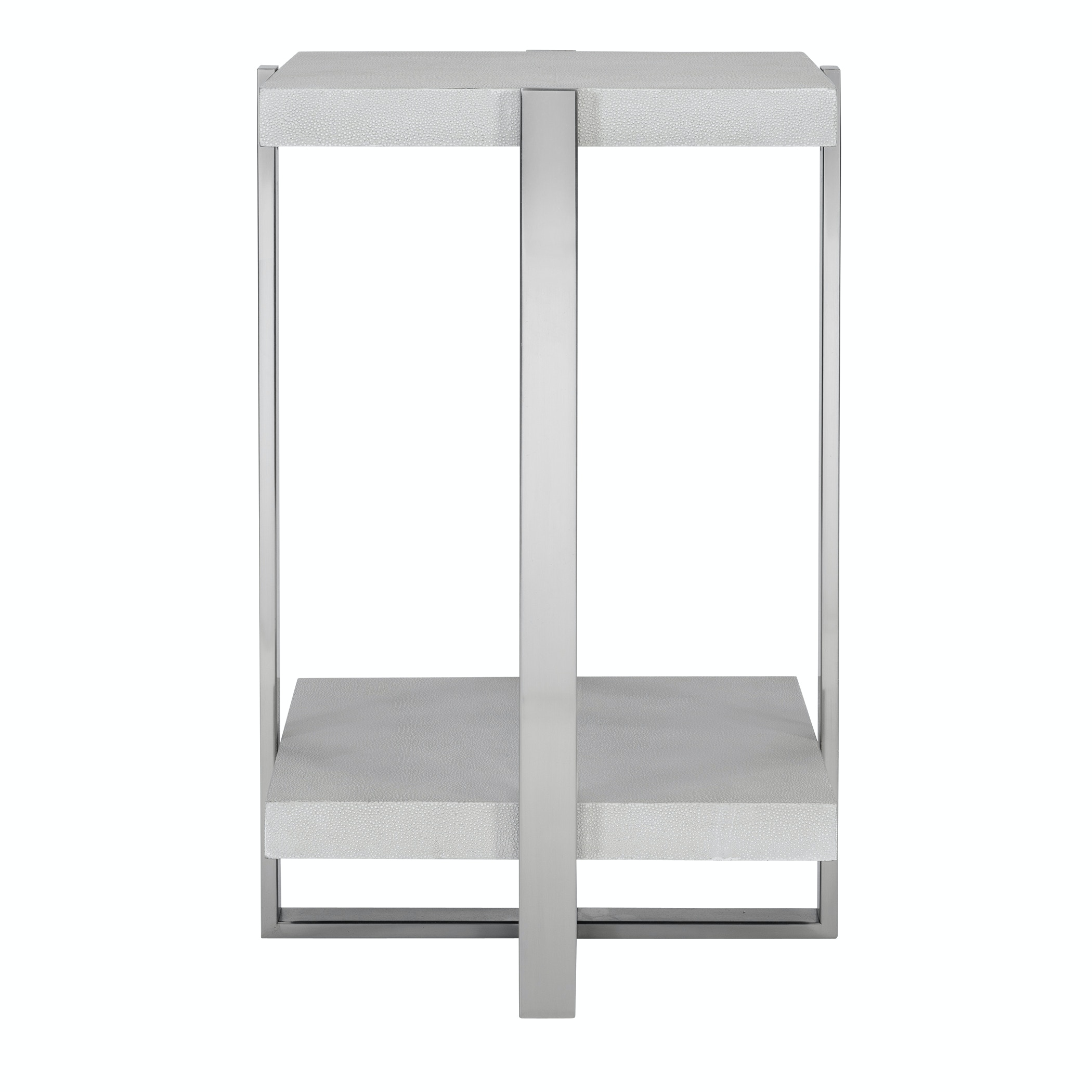 - Arnaut White Accent Table UT25375