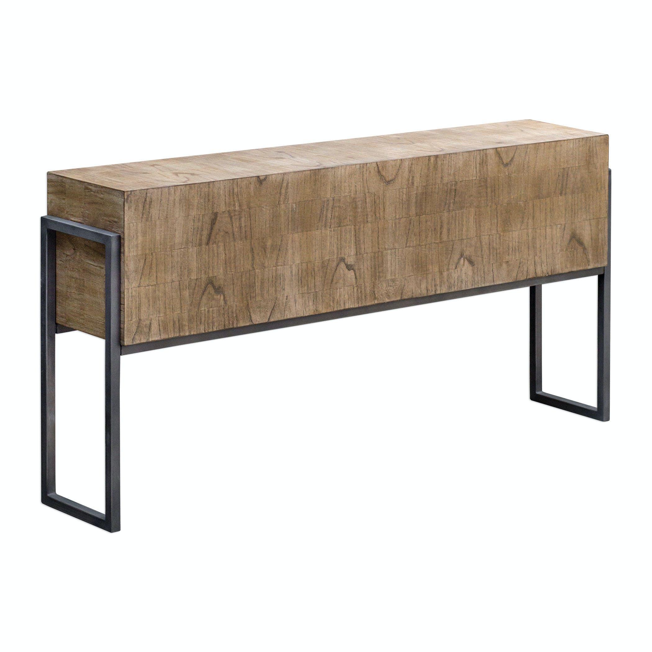 Uttermost Living Room Nevis Contemporary Sofa Table Ut25402 Walter E Smithe Furniture Design