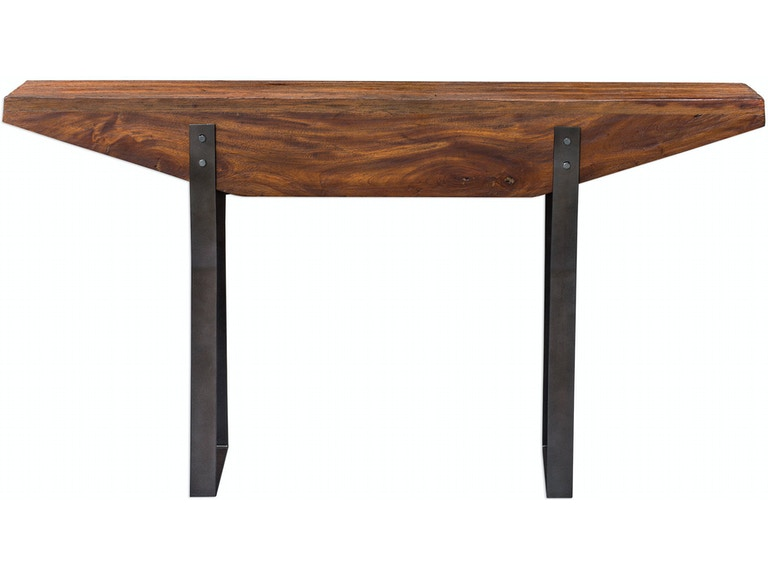 Uttermost Living Room Emryn Industrial Sofa Table 25404 American