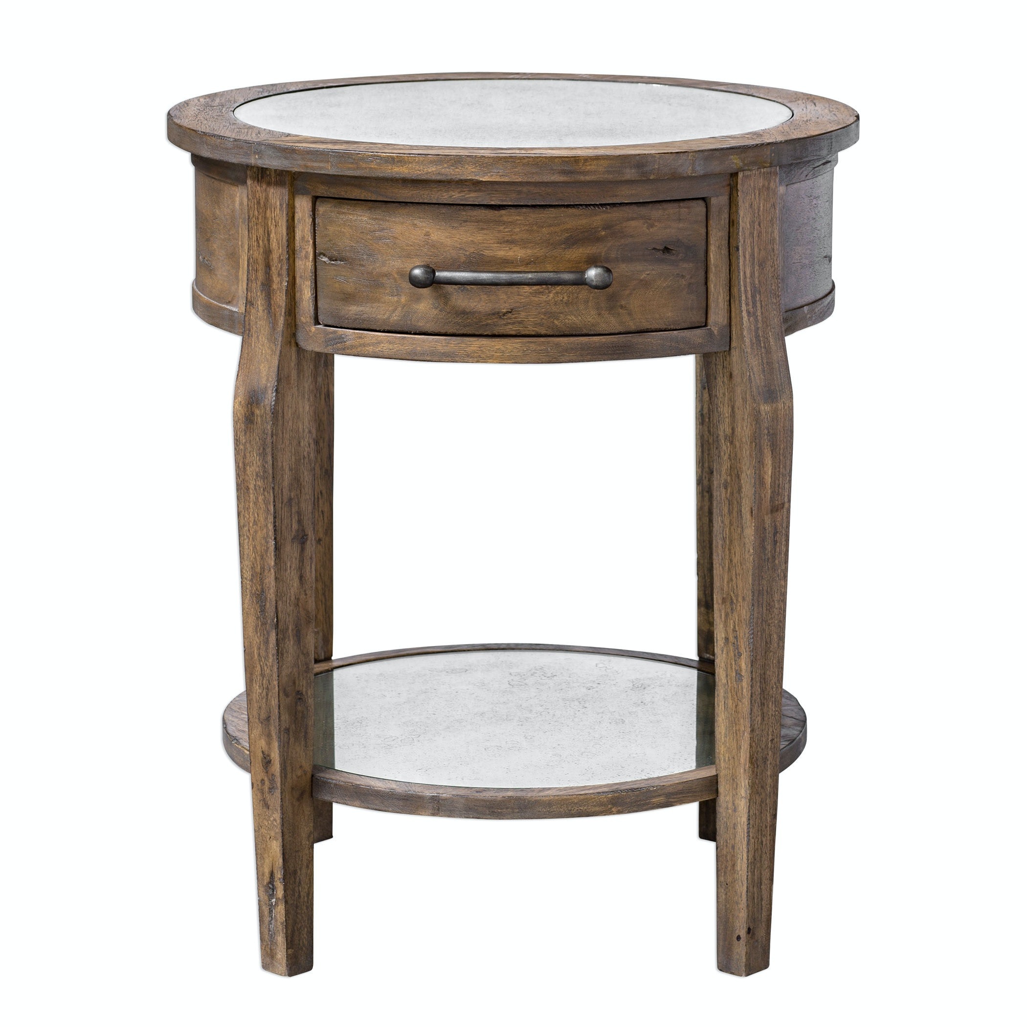 Uttermost Raelynn Wood Lamp Table UT25418 From Walter E. Smithe Furniture +  Design
