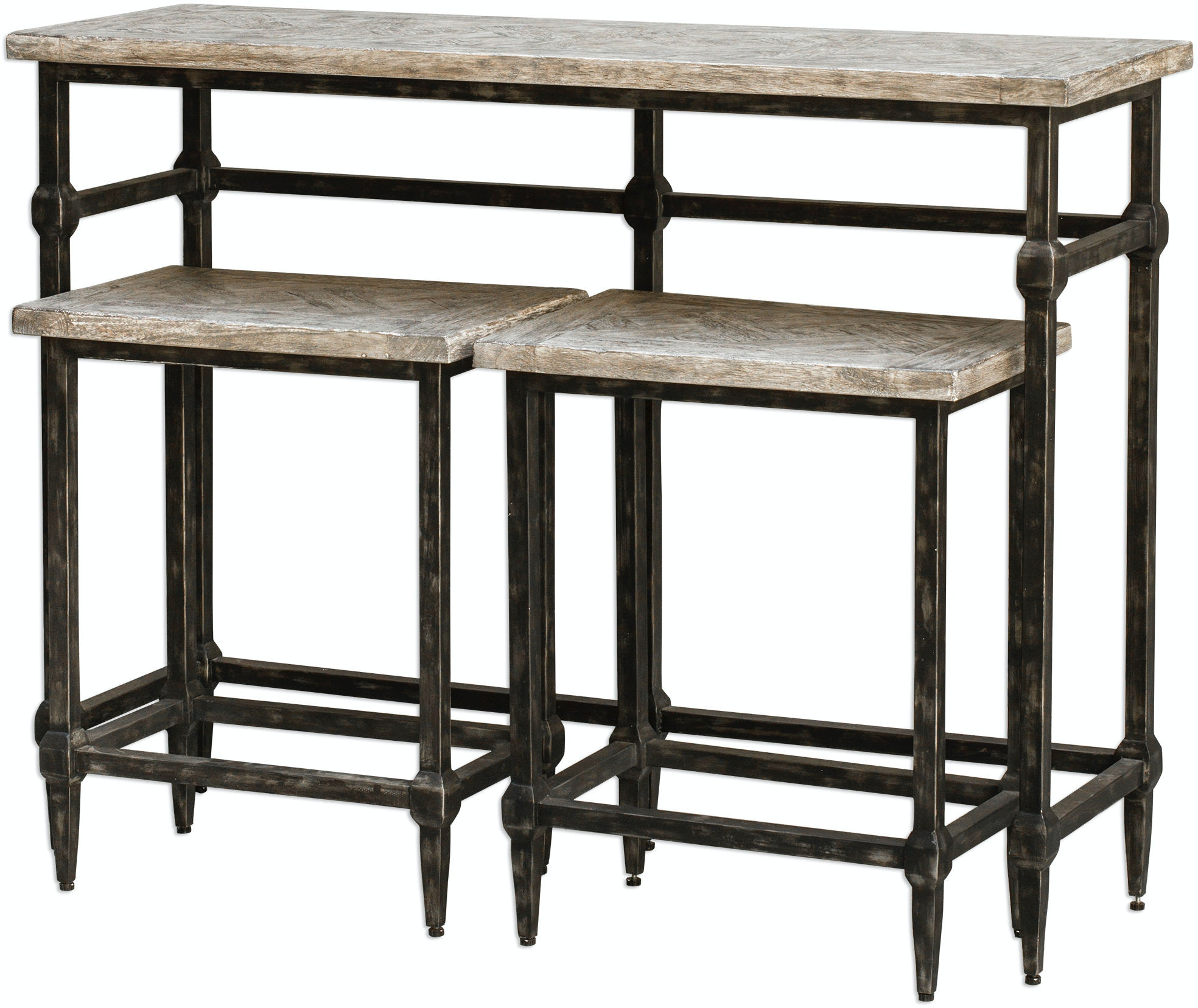 Uttermost Bar And Game Room Tameron Bistro Set S 3 25728
