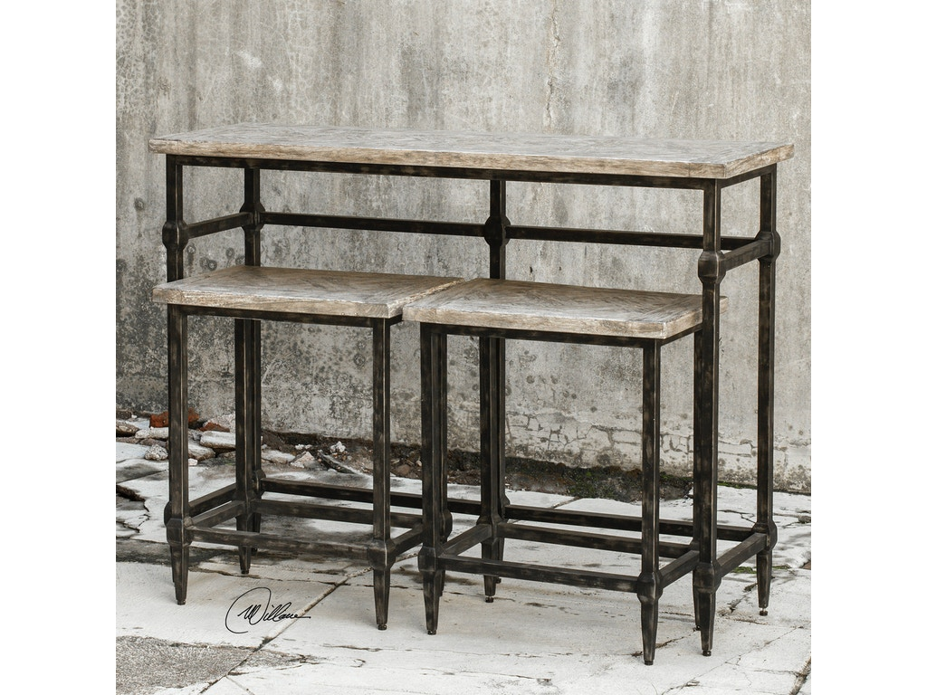Uttermost Bar And Game Room Tameron Bistro Set S 3