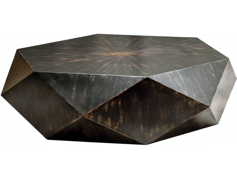 Uttermost Living Room Volker Worn Black Coffee Table 25832 At Penny Mustard