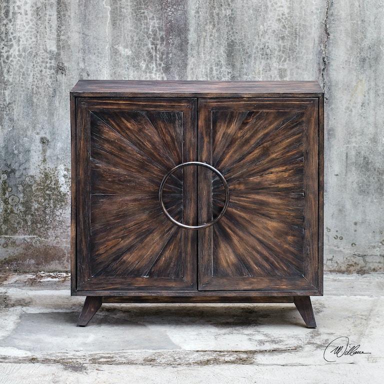 Kohana Black Console Cabinet Ut25842