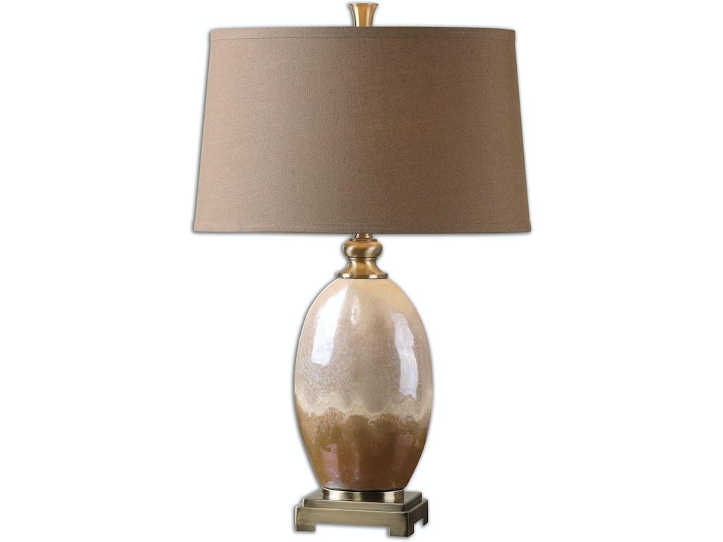 Uttermost Lamps And Lighting Eadric Ceramic Table Lamp