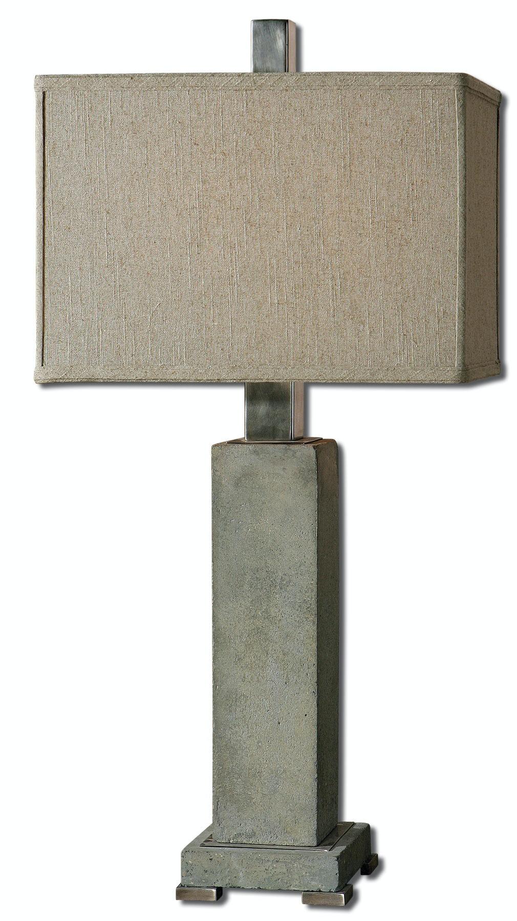 Uttermost Risto Concrete Table Lamp 26543 1
