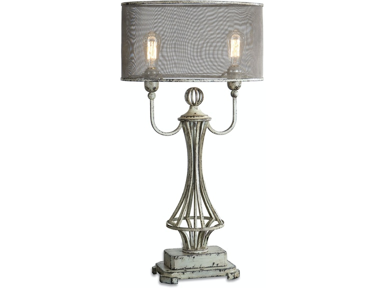 Uttermost 27008 1 lamps and lighting pontoise aged ivory table lamp uttermost pontoise aged ivory table lamp 27008 1 aloadofball Images