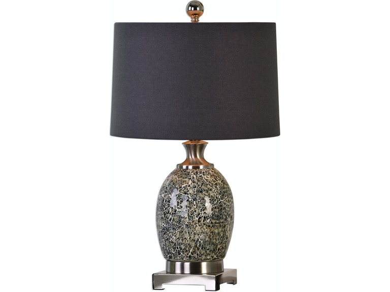 Uttermost lamps and lighting madon crackled glass table lamp uttermost madon crackled glass table lamp 27161 1 aloadofball Images