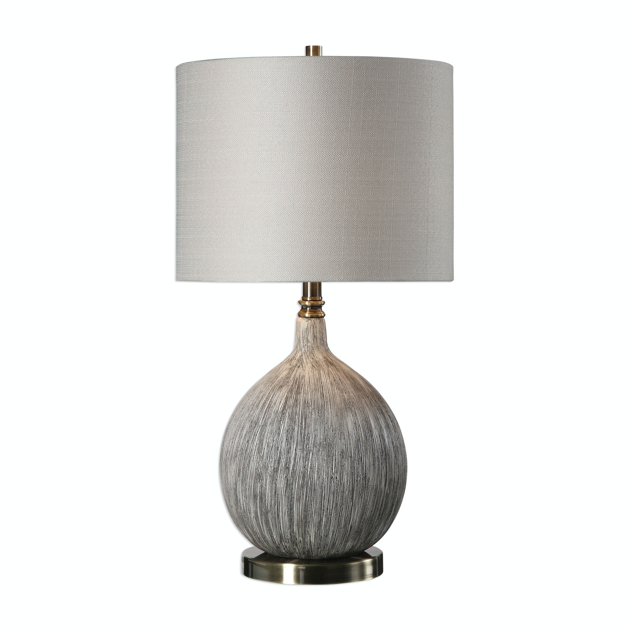 Uttermost Hedera Textured Ivory Table Lamp 27715 1