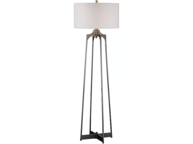 Uttermost Lamps And Lighting Adrian Modern Floor Lamp 28131