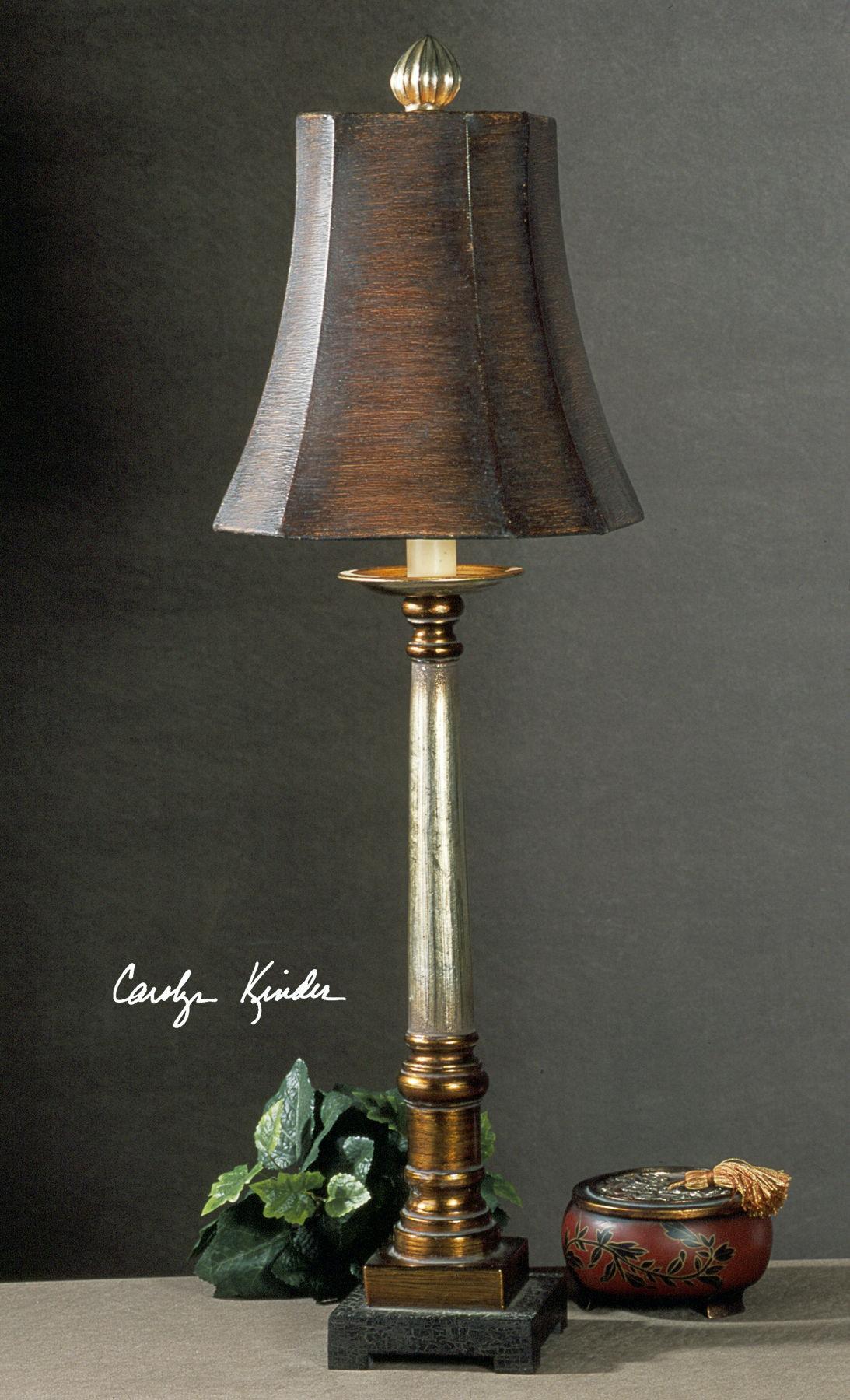 uttermost buffet lamps silver uttermost trent buffet lamp 29058 lamps and lighting lenoir empire