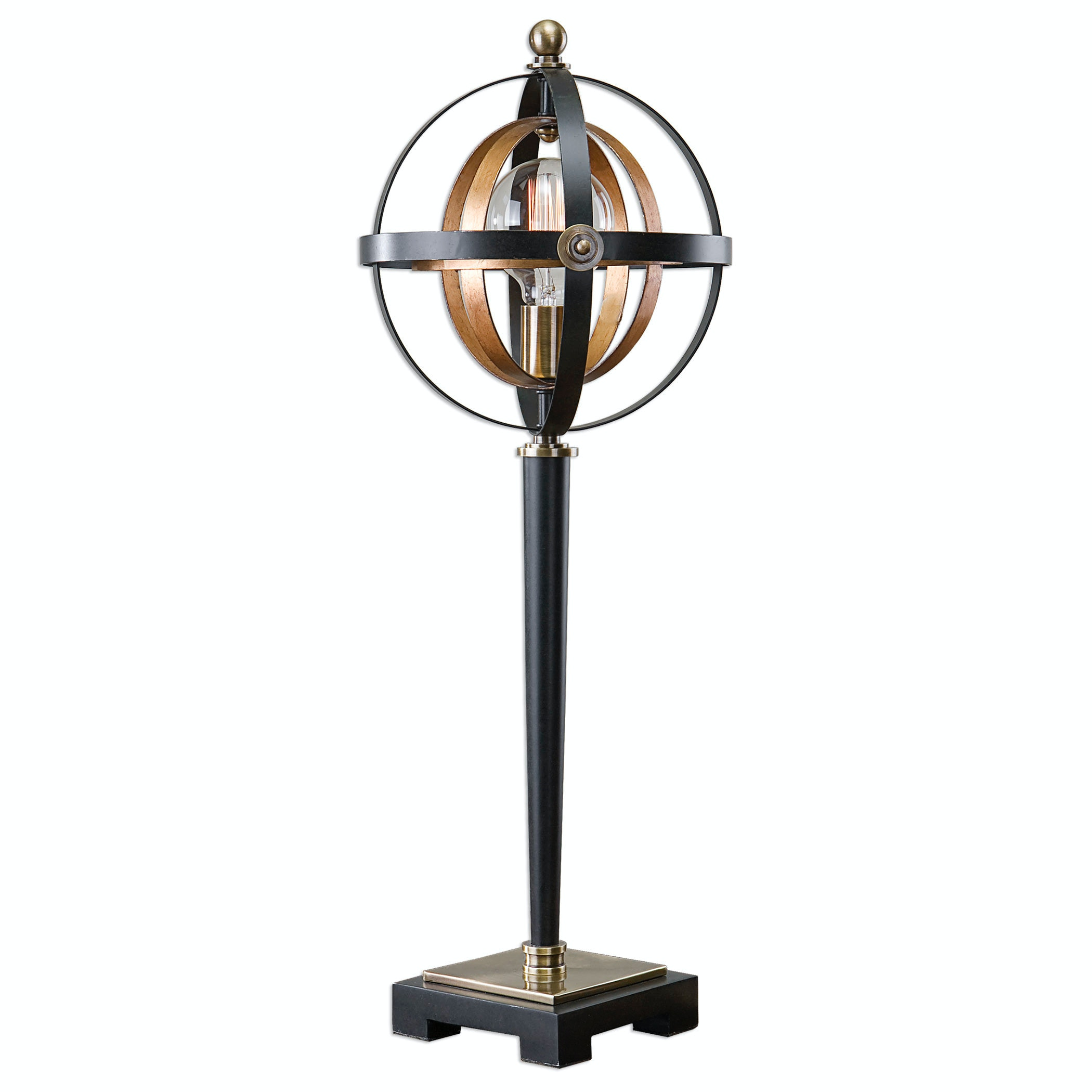 Uttermost Lamps And Lighting Rondure Sphere Table Lamp 29212 1
