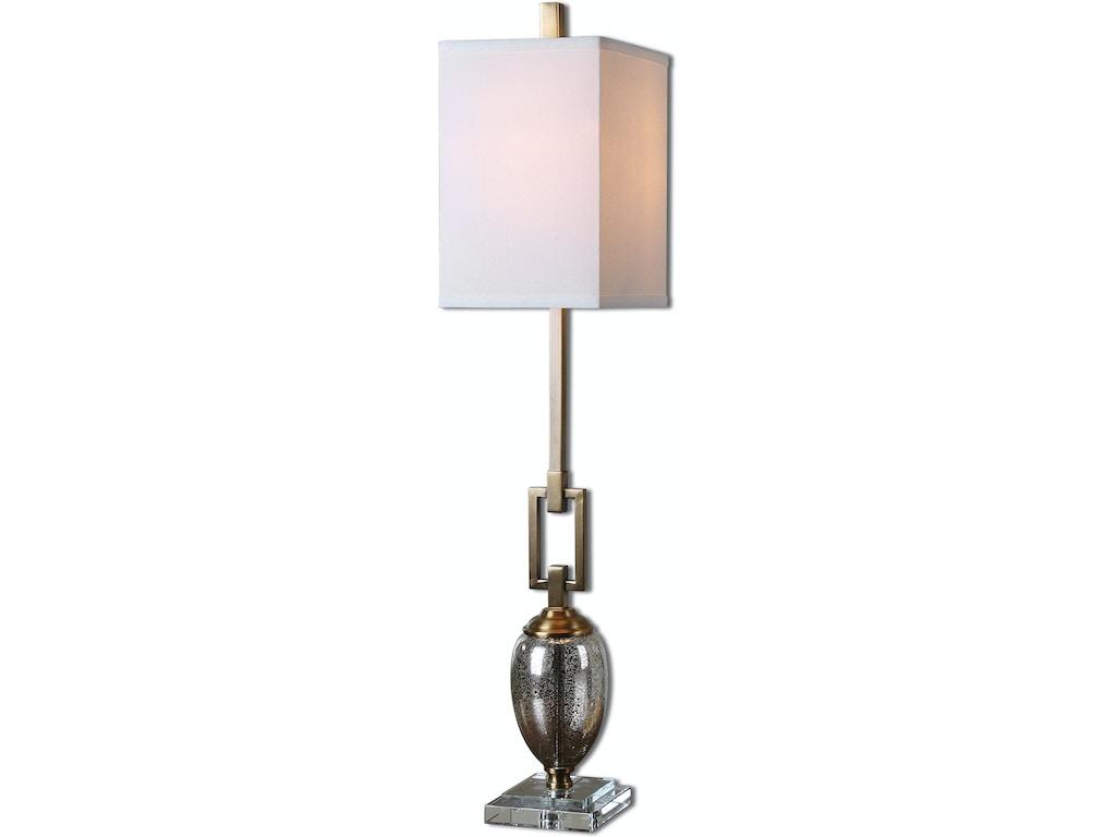 Copeland Mercury Glass Buffet Lamp Ut293381