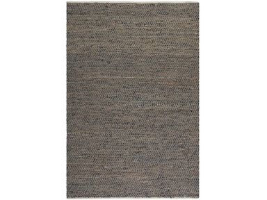 Uttermost Uttermost Tobais Rescued Leather And Hemp Rug 71001