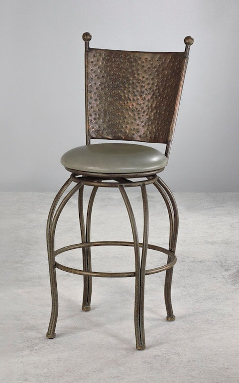 Wesley Allen Bar And Game Room Bar Stool B225h26 D