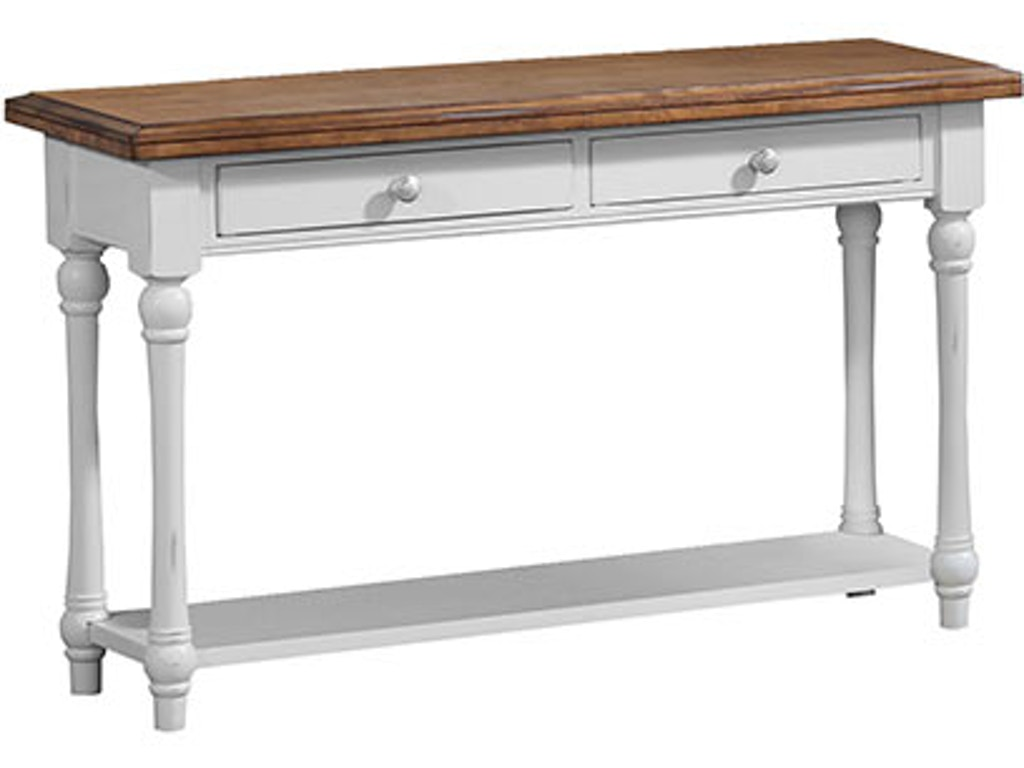 Winners only living room 50 inches sofa table tyndall for Sofa table 50 inches