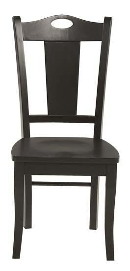 BE150S. Cape Cod Ebony Side Chair