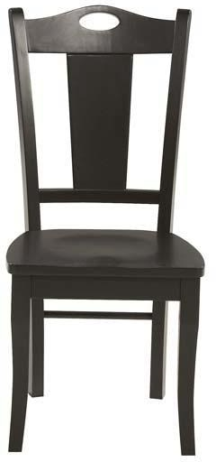 Winners Only Home Office Cape Cod Ebony Side Chair Be150s