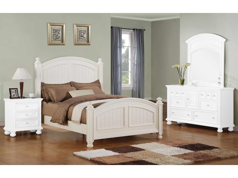 Winners Only Bedroom Panel Bed BP1001QN2 - Burke Furniture ...