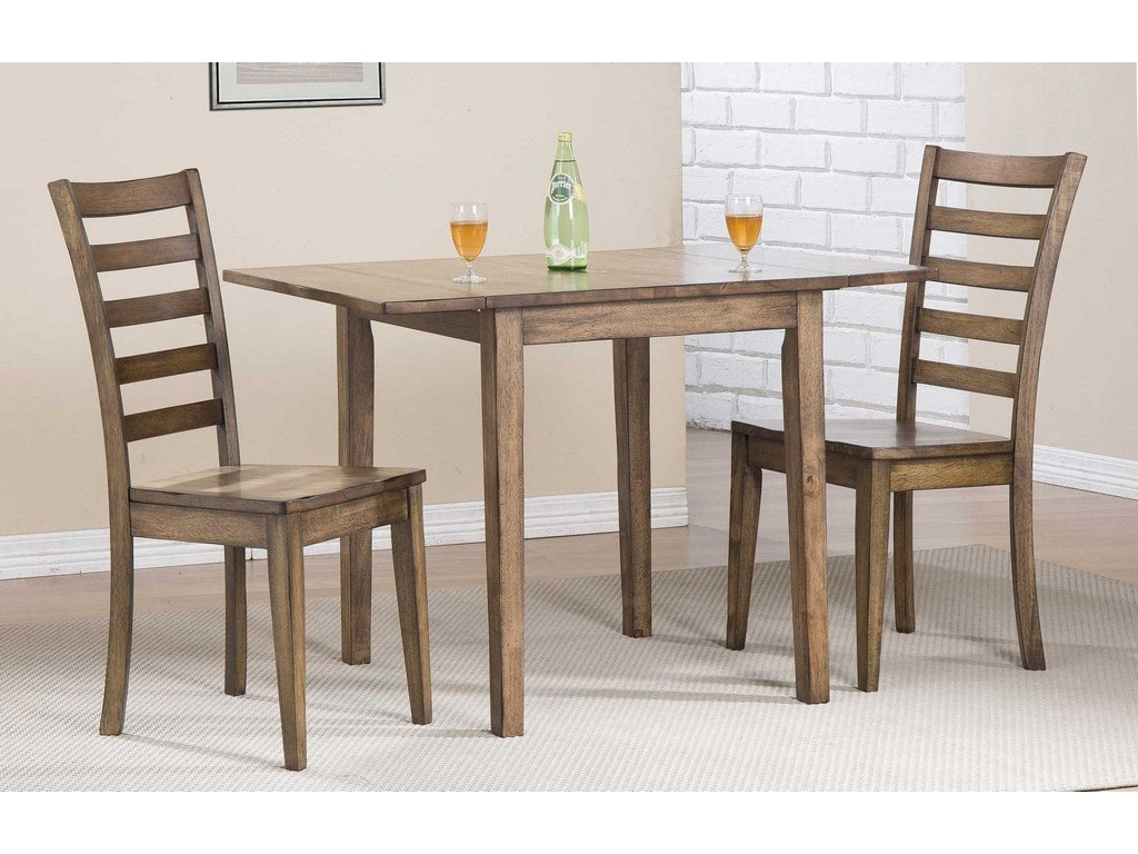 Winners only dining room 46 inches leg table dc33046r for Only dining table online