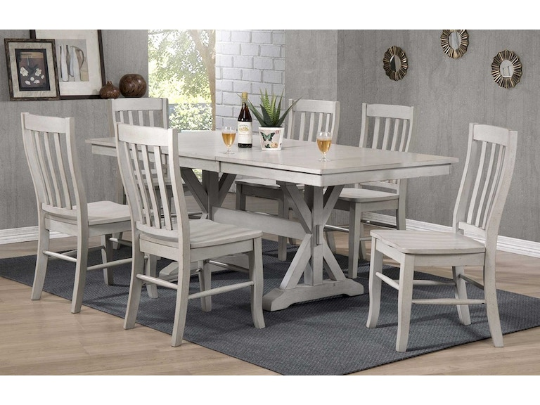 Winners Only 78 Inches Table With 18 Butterfly Leaf DC33878G