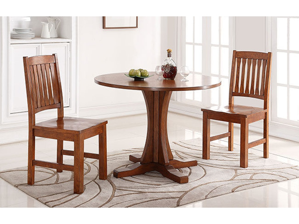 Winners only dining room 42 inches round table dcq14242 for Dining room tables 42 round