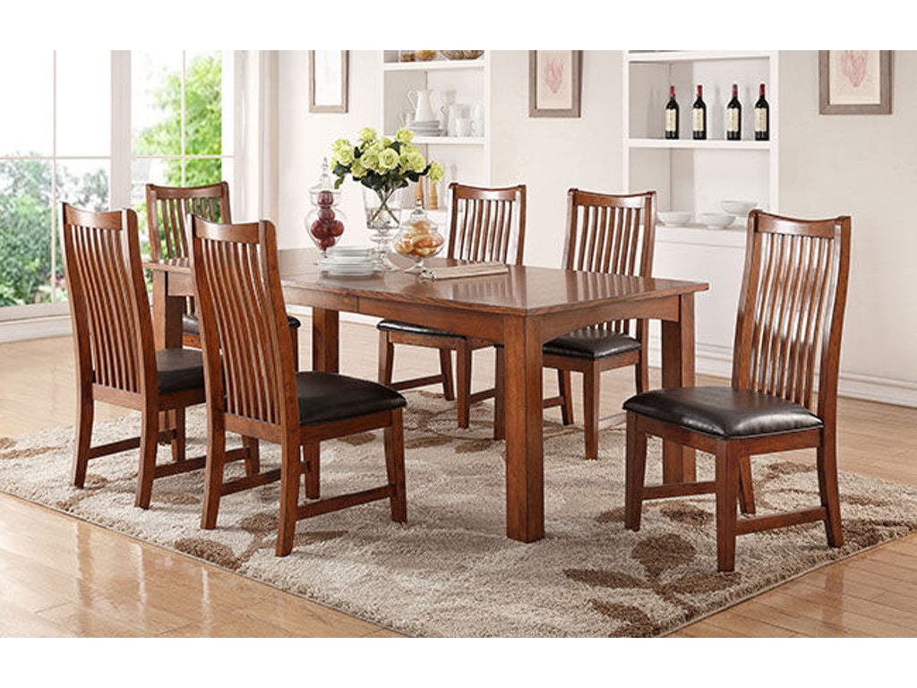 winners only dining room 84 inches leg table dcq14284