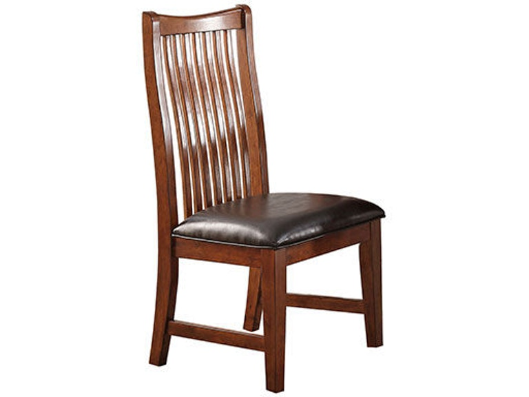 Winners Only Raised Slat Back Side Chair DCQ1451S