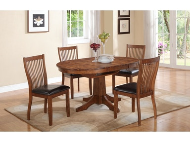 42 Inch Round Table And 4 Chairs DFB14260 Broadway Winners Only