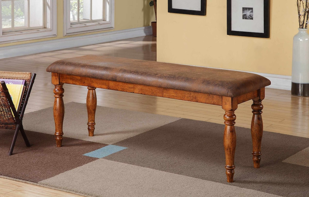 Fabulous Winners Only Dining Room 48 Inches Bench With Cushioned Seat Home Interior And Landscaping Pimpapssignezvosmurscom