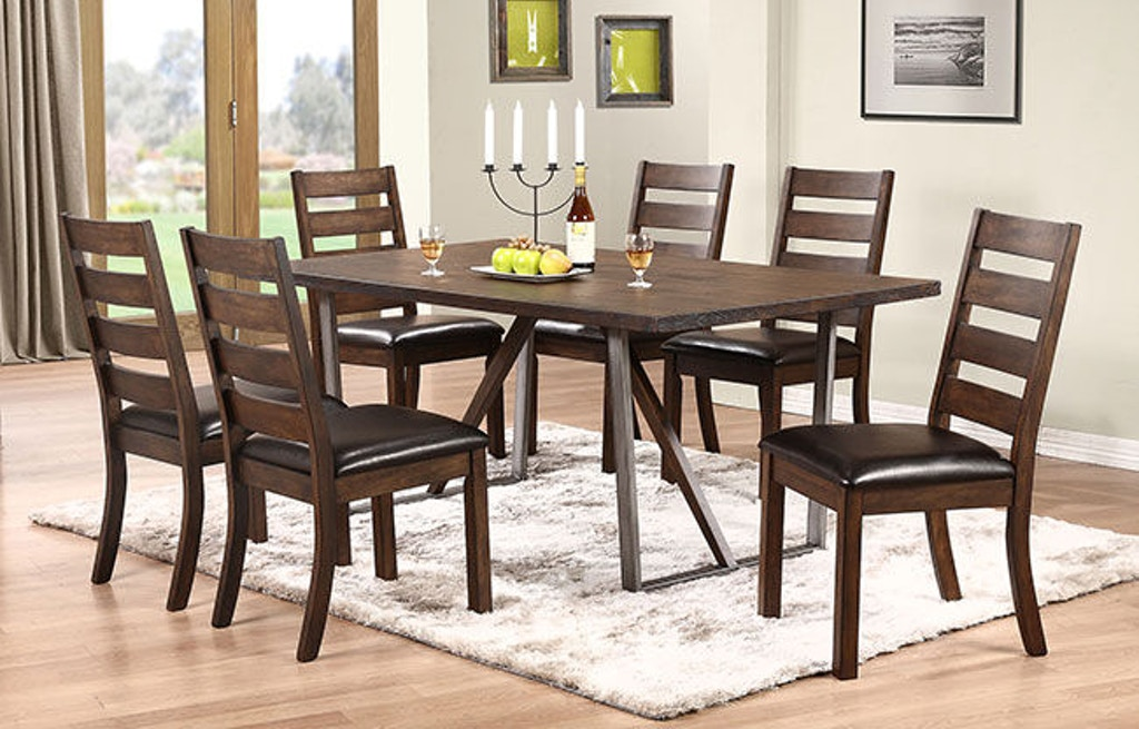 Winners Only Kendall 72 Inches Trestle Table Dk24072 Portland Or Key Home Furnishings