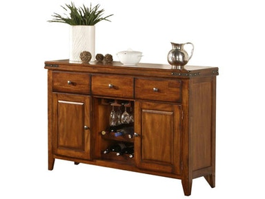 Winners Only Dining Room 78 Inches Mango Tall Trestle
