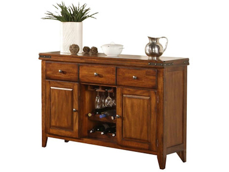 Winners Only Dining Room 54 Mango Sideboard Cabinet With Wine Rack 212050 At Naturwood Home Furnishings