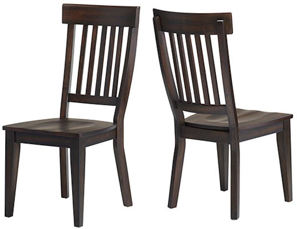 Dining Room Rake Back Side Chair