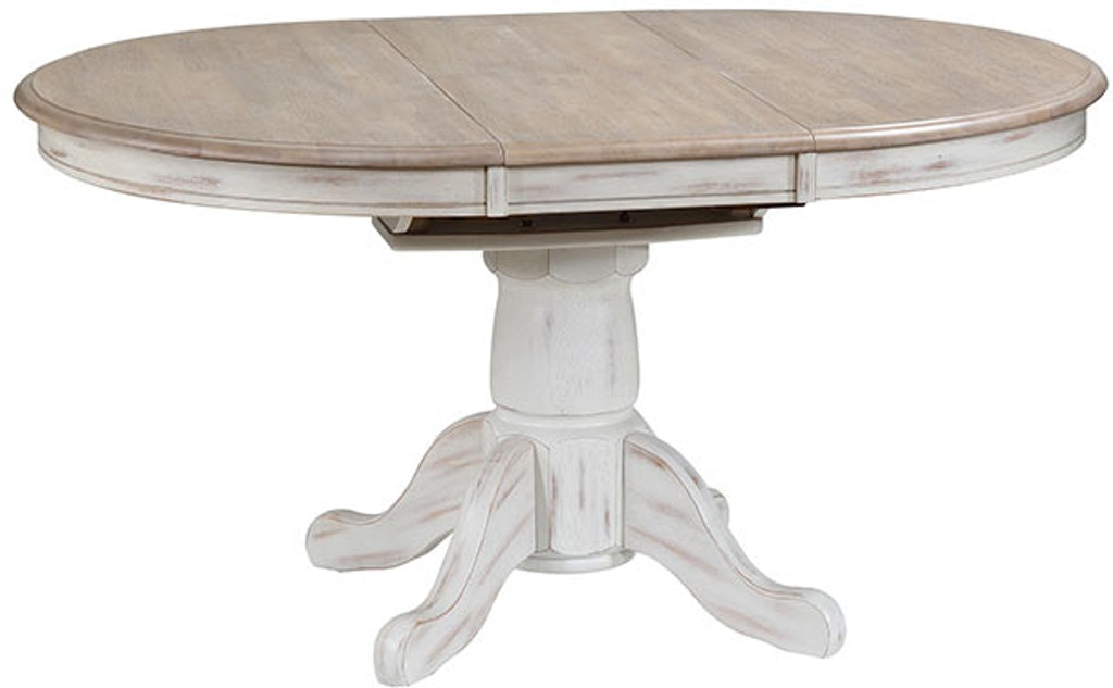 Winners Only Dining Room 57 In Pedestal Table W 15 In Butterfly Leaf Dpr14257 Carol House